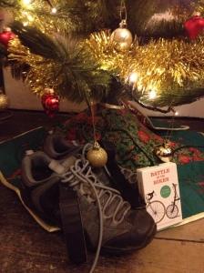 Christmas cycling