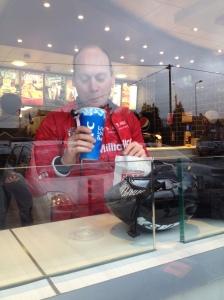 No coffee, no tea - got to be Pepsi then